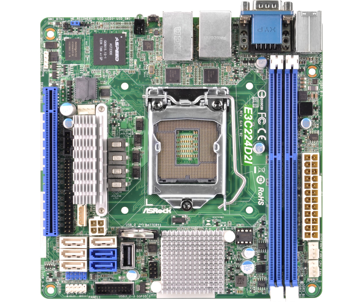 Resetting the IPMI Password on the ASRock E3C224D2I